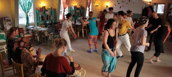 Afrobrasilialaisten tanssien ja rytmien -workshop 19.11