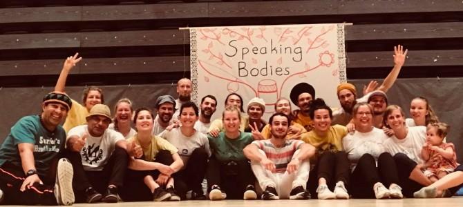 Speaking Bodies Joensuussa 3-5.8.2018