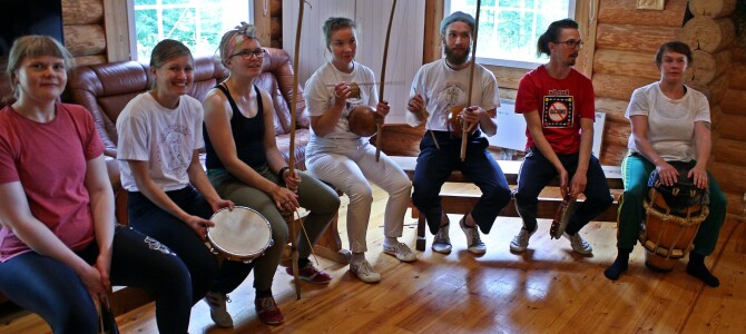 Capoeiraleiri Rääkkylässä 14-16.8.2020